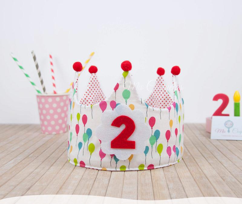 Vuelve una nueva Corona de cumpleaños de Globos!!!!