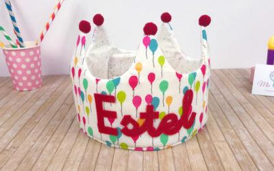 Corona de Cumpleaños para Estel