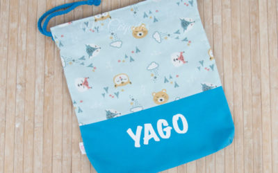 Nueva Mochila saco para Yago personalizada