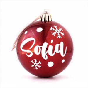 Bola de navidad personalizada. Bola de navidad decorativa