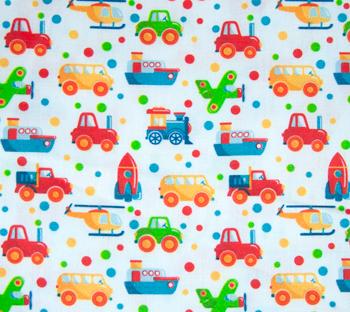 Tela coches coloridos Mis Coquetas