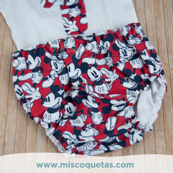 Culotte personalizado de Mickey Compra tu culotte personalizado Patrón culotte personalizado