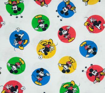 Tela de Mickey con caras